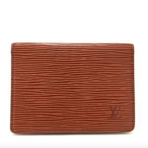 Louis Vuitton Epi Leather ID Credit Card Wallet
